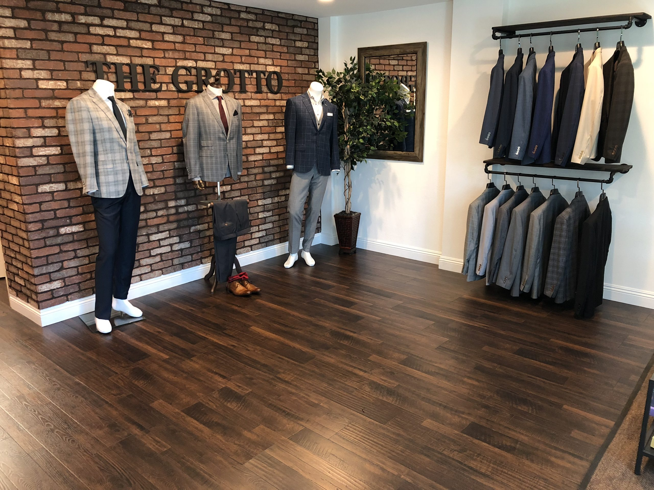 The Grotto Menswear Grooms Grotto