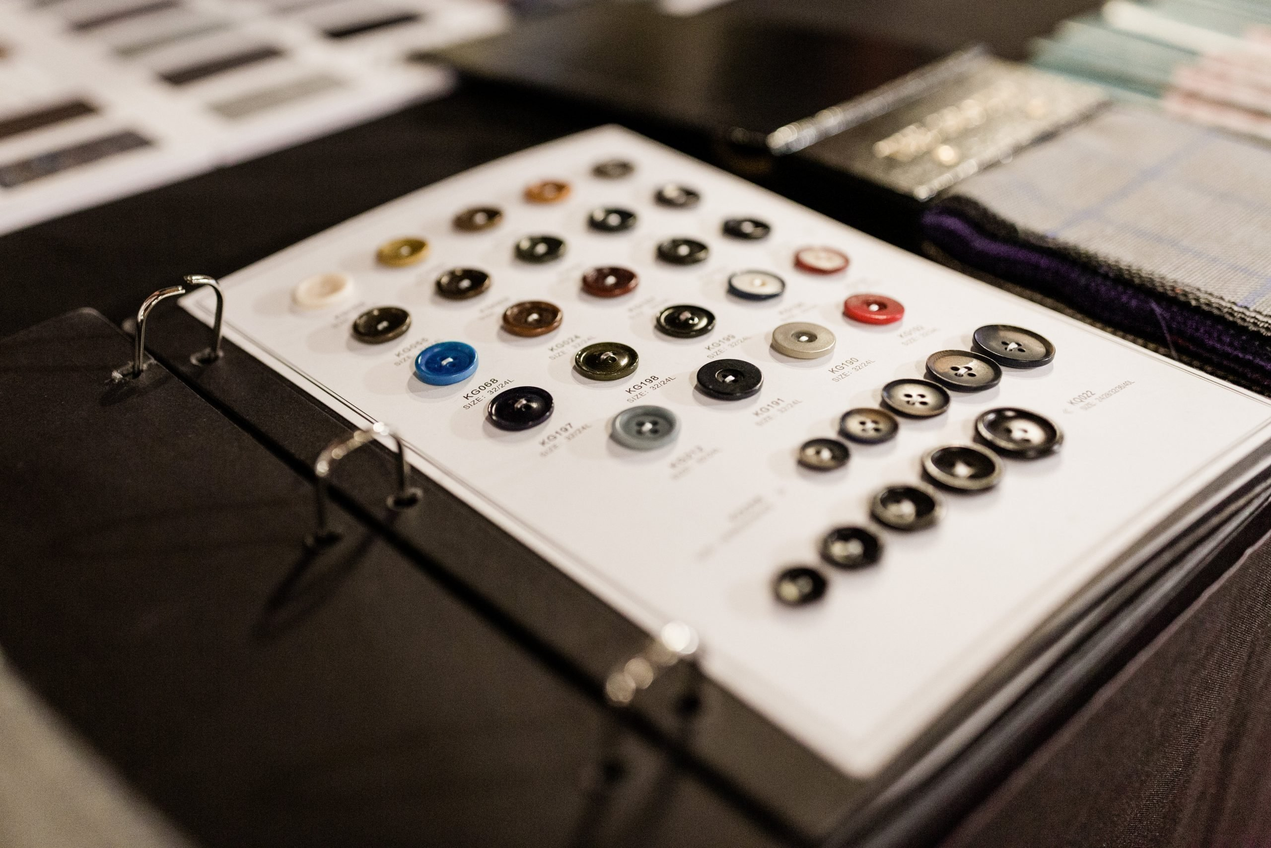 Custom Buttons for Custom Suits for Men