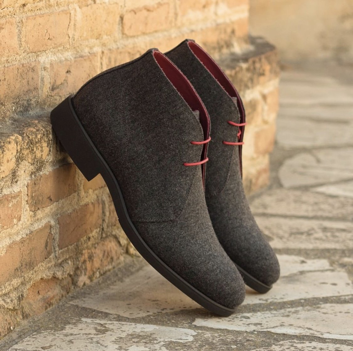 Designing Custom Suede Dark Grey Shoes