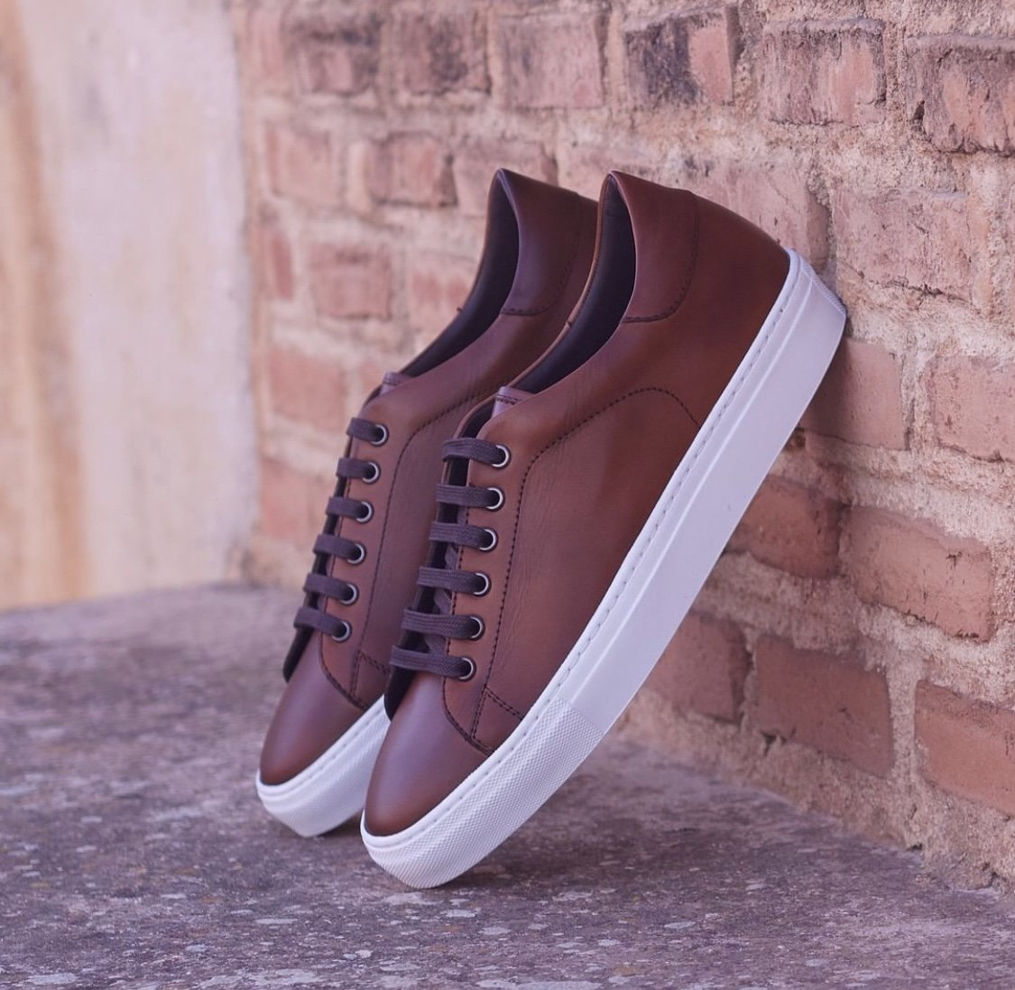 Designing Custom Brown Casual Shoes