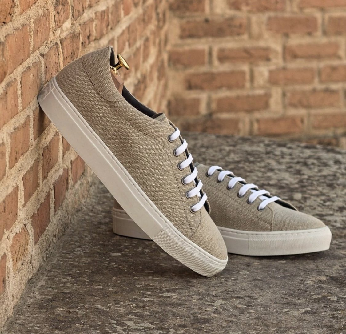 Designing Custom Grey Casual Shoes for Groomsmen party