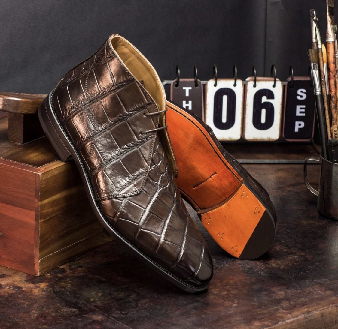 Designing Custom Leather Shoes for Groomsmen