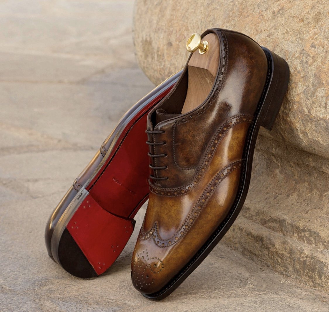 Designing Custom Leather Shoes for Men