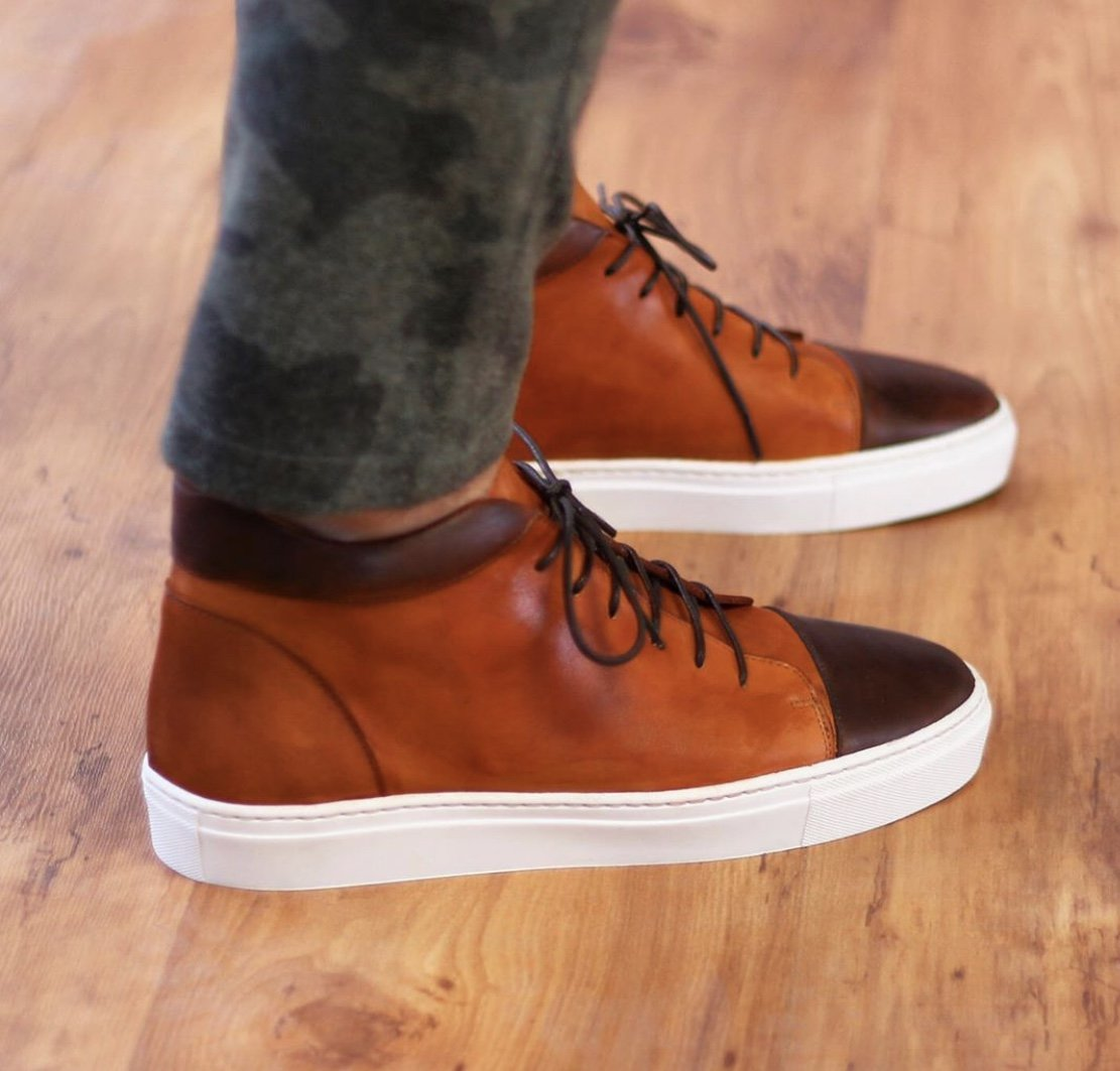 Designing Custom Casual Shoes for Men