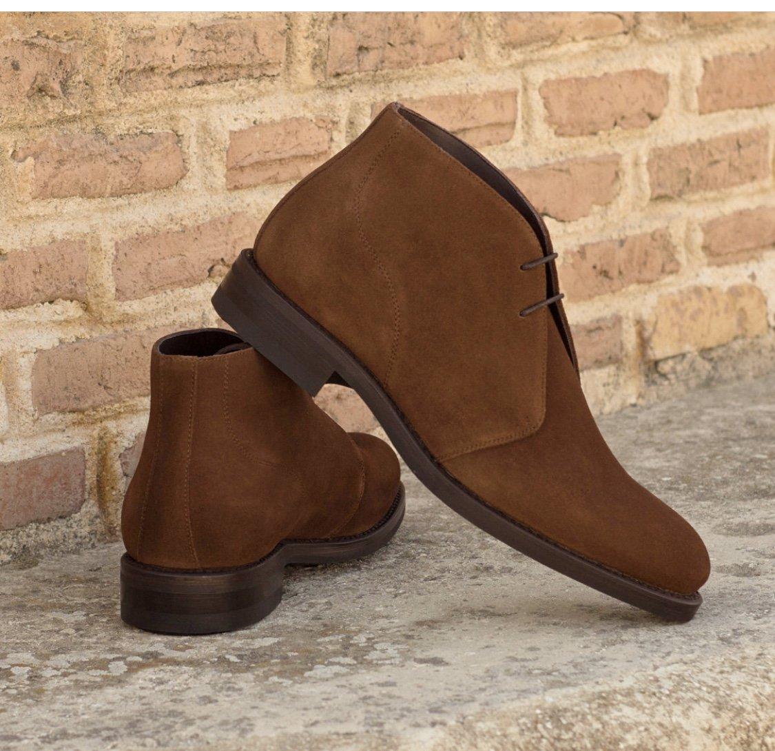 Designing Custom Shoes for Men Suede